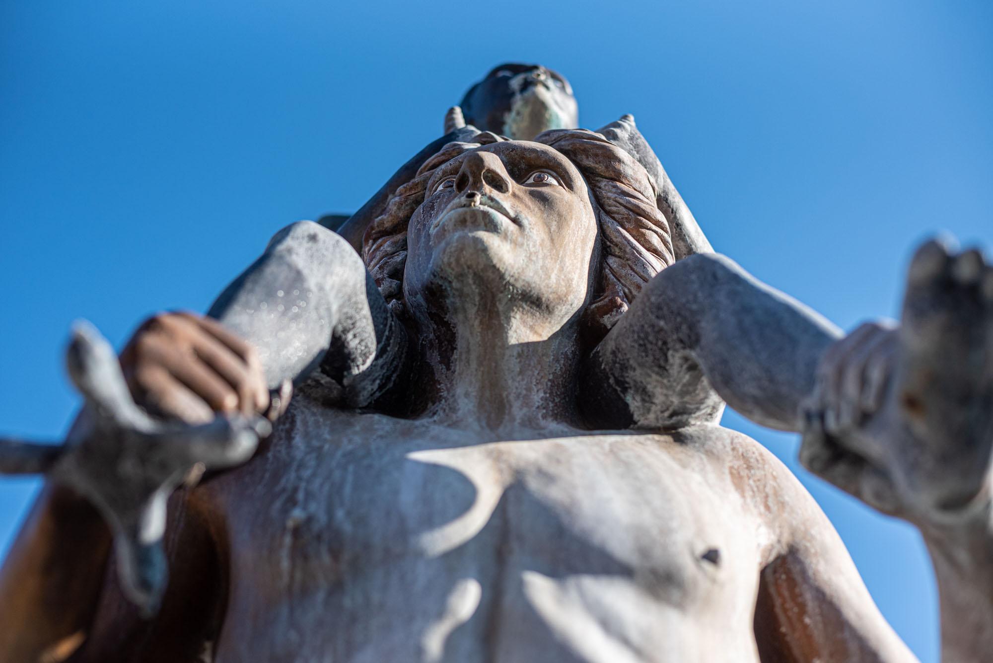 La Fontana opera di Luigi Ontani a Vergato